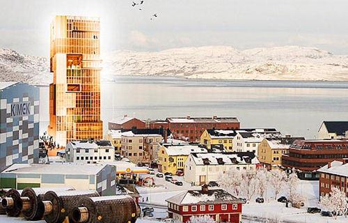 Worlds Tallest Wooden Building