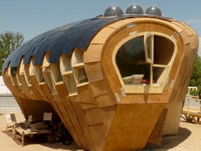 Fab Lab Solar Panel House