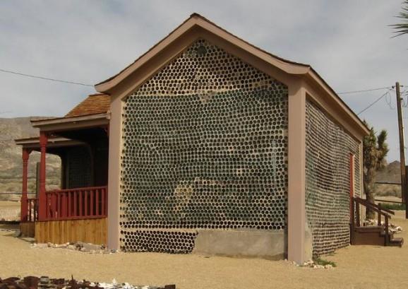 Glass Bottle House