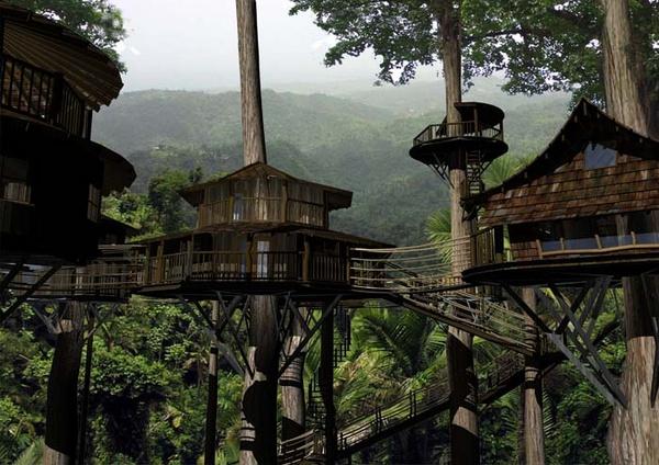 Eco Friendly Treehouse Community