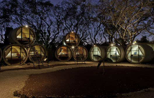 Recycled Concrete Tube House